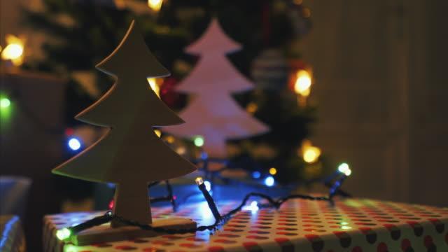 Christmas season at home.