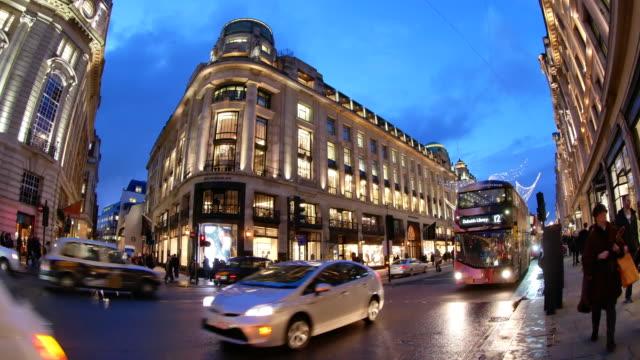 4 K & kerstinkopen in Oxford street, Londen