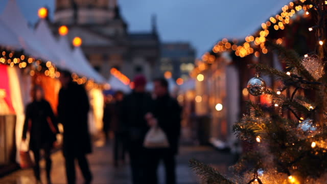 christmas shopping - germany stock videos & royalty-free footage
