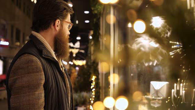 christmas shopping - scandinavia stock videos & royalty-free footage