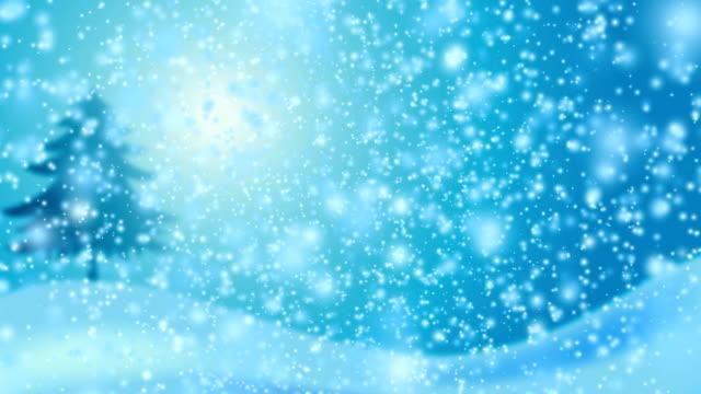 Schnee-Blau