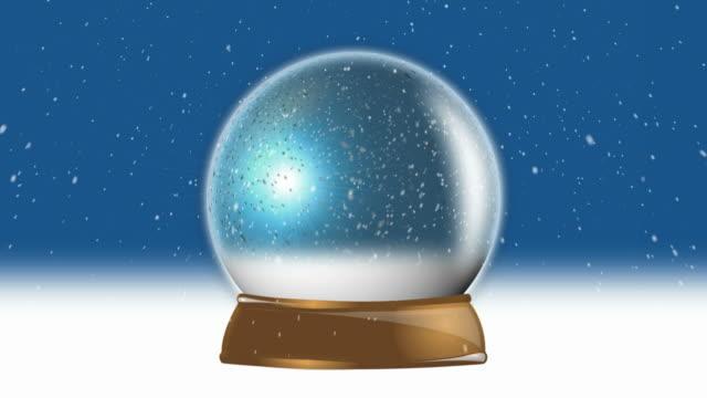 Christmas Snow Globe Loop