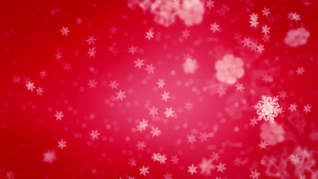 Christmas snowflakes loopable