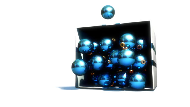 christmas spill - christmas bauble stock videos & royalty-free footage