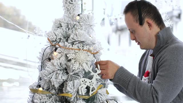 spirito natalizio - disability video stock e b–roll