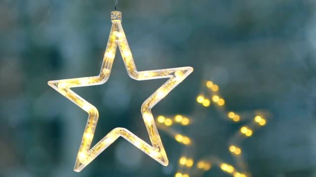 Christmas Star, Neon, Christmas, Christmas Ornaments