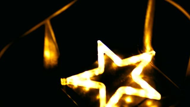 Christmas Star on Swing, Neon, Christmas, Christmas Ornaments