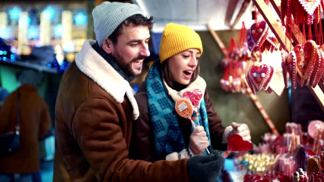 christmas street shopping. - christmas market stock videos & royalty-free footage