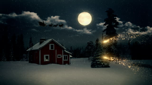 stockvideo's en b-roll-footage met christmas tale. - kerstverlichting