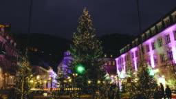 Christmas time in Heidelberg, Germany