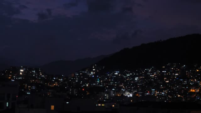 christmas time in rio favela - favela stock videos and b-roll footage