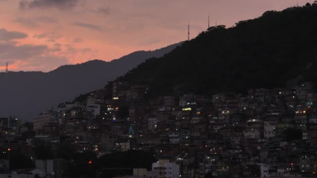 christmas time in rio slum - favela stock videos and b-roll footage