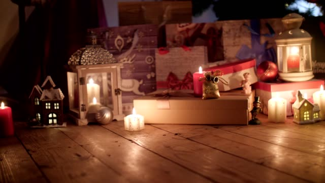 christmas time is loving time. share it. make it happen. - cosy stock videos & royalty-free footage