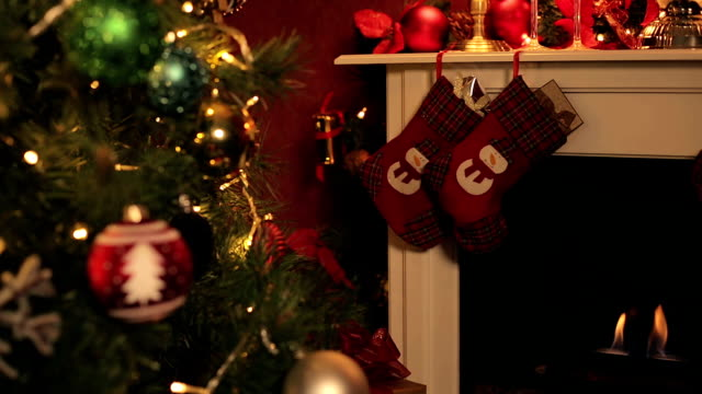 christmas time - christmas decore candle stock videos & royalty-free footage
