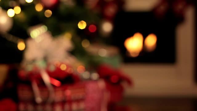 christmas time - christmas tree stock videos & royalty-free footage