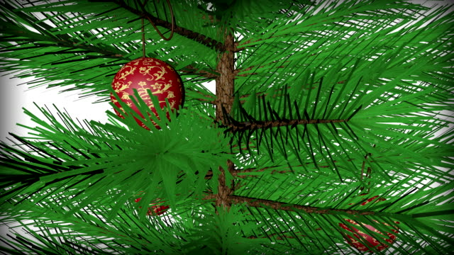 Christmas Tree 4K Animation
