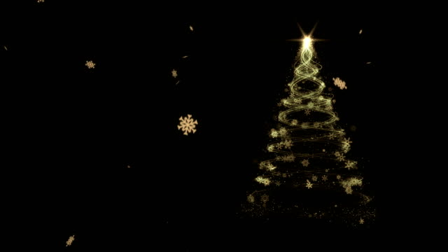 christmas tree 4k - christmas tree stock videos & royalty-free footage