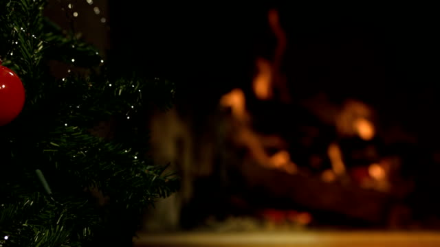 HD DOLLY: Christmas Tree And Fireplace