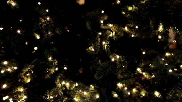 christmas tree close up - mystery stock videos & royalty-free footage