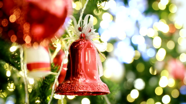 christmas tree decoration - tinsel stock videos & royalty-free footage