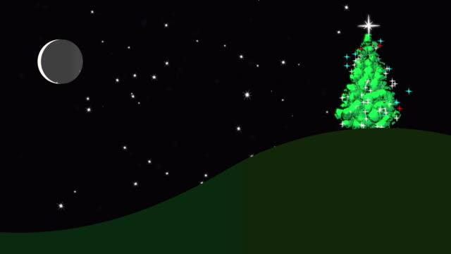 Collina dell'albero di Natale