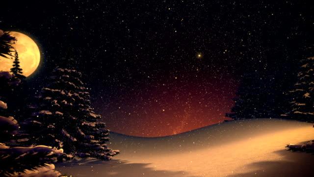 Weihnachtsbaum im vintage-winter-Landschaft mit Platz für text.