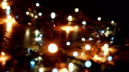 Christmas tree lights changing colors