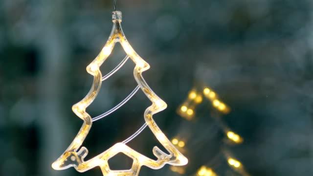 Christmas Tree, Neon, Christmas, Christmas Ornaments