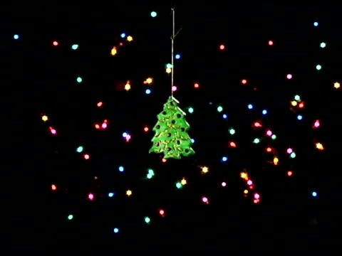 christmas tree ornament - see other clips from this shoot 1407 stock videos and b-roll footage