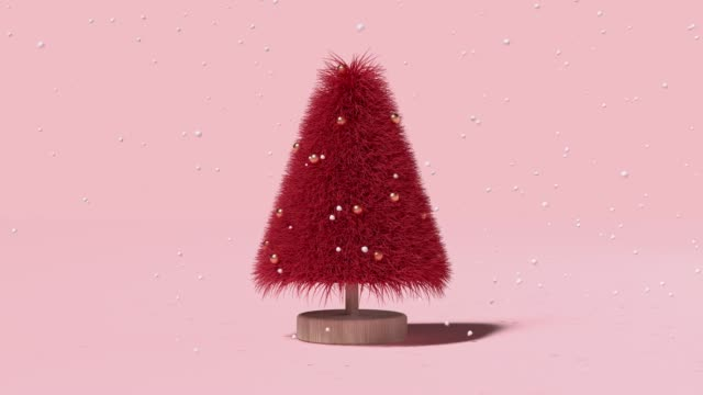 christmas tree - illustration stock videos & royalty-free footage