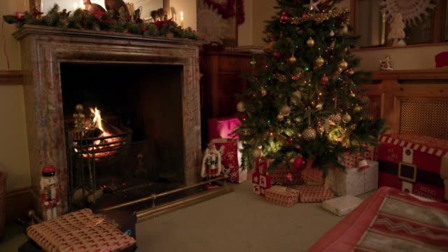 christmas tree - male likeness stock videos & royalty-free footage
