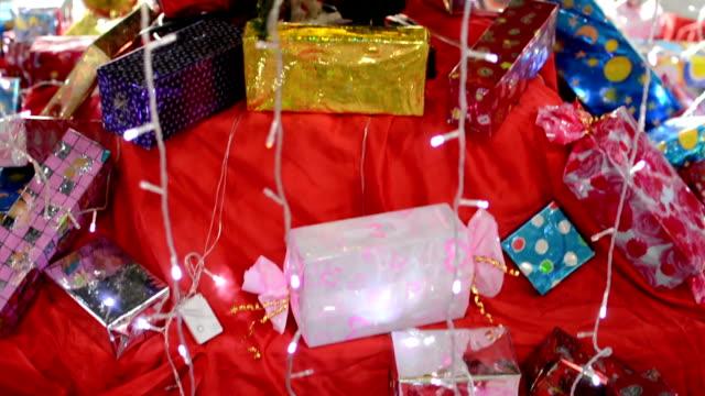 christmas tree - imitation stock videos & royalty-free footage
