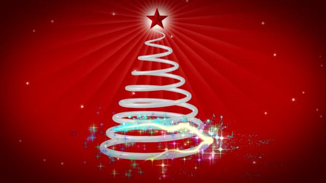 christmas tree - christmas cracker stock videos and b-roll footage
