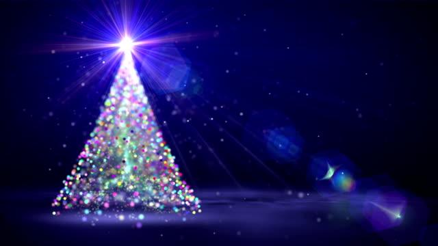 christmas tree - christmas tree stock videos and b-roll footage