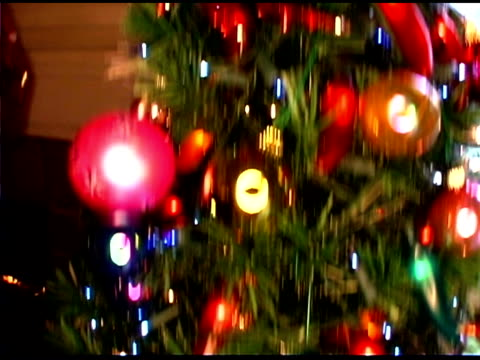christmas tree - see other clips from this shoot 1407 stock videos and b-roll footage