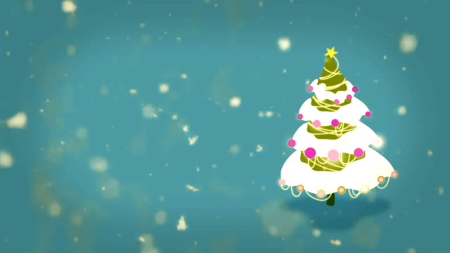 weihnachtsbaum mit hintergrund - countdown stock-videos und b-roll-filmmaterial