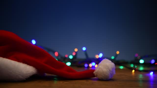 christmas - santa hat stock videos & royalty-free footage