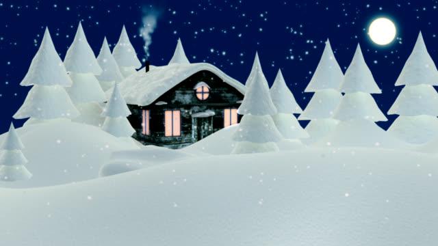 vídeos de stock e filmes b-roll de natal - festival da neve