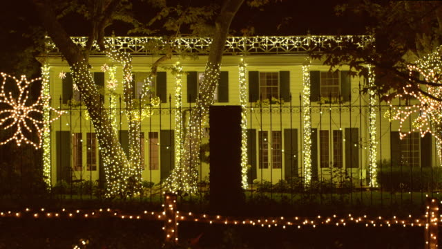 christmas - santa monica house stock videos & royalty-free footage