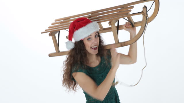 christmas - santa hat stock videos and b-roll footage
