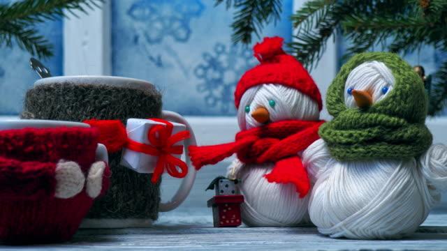 christmas window - rustic stock videos & royalty-free footage