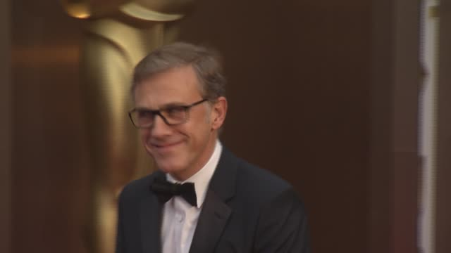 Christolph Waltz 86th Annual Academy Awards Arrivals at Hollywood Highland Center on March 02 2014 in Hollywood California