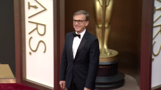 Christoph Waltz 86th Annual Academy Awards Arrivals at Hollywood Highland Center on March 02 2014 in Hollywood California