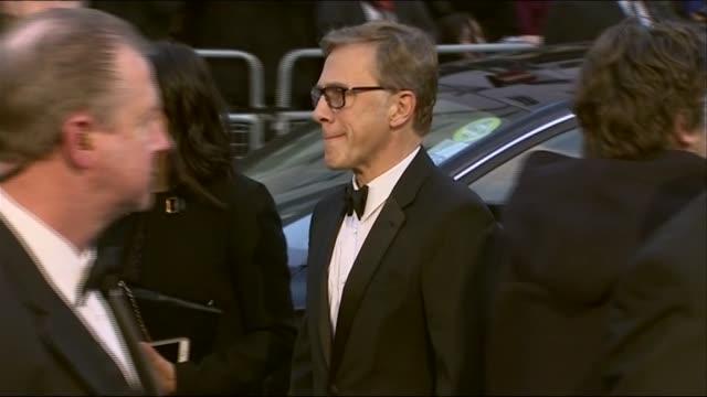 Christoph Waltz arrives at the BAFTAs 2014