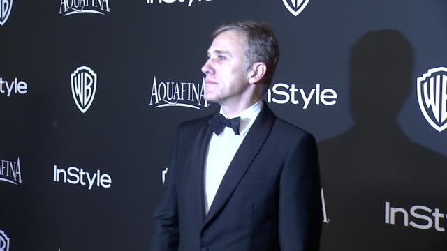 Christoph Waltz at 16th Annual InStyle And Warner Bros Golden Globe AfterParty on January 11 2015 in Beverly Hills California
