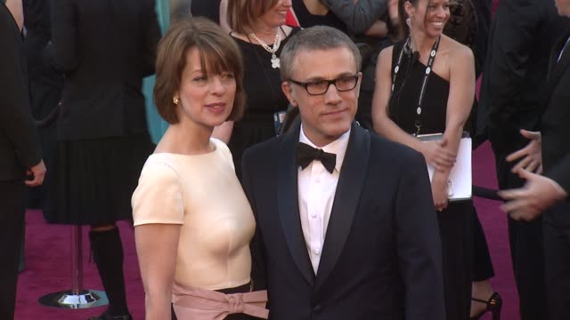 Christoph Waltz at 85th Annual Academy Awards Arrivals in Hollywood CA on 2/24/13