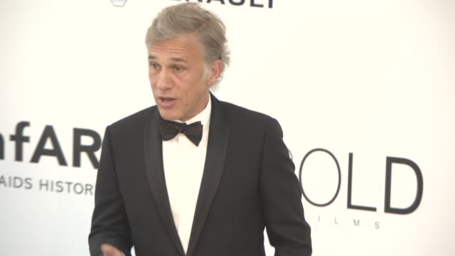 Christoph Waltz at amfAR Gala Cannes 2017 at Hotel du CapEdenRoc on May 25 2017 in Cap d'Antibes France