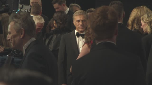 Christoph Waltz at 'Spectre' World Premiere at Royal Albert Hall on October 26 2015 in London England