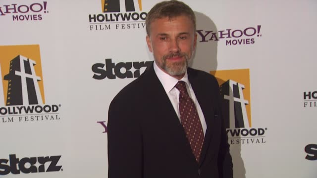 Christoph Waltz at the 13th Annual Hollywood Awards Gala at Beverly Hills CA