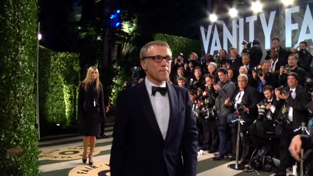 Christoph Waltz at The 2013 Vanity Fair Oscar Party Hosted By Graydon Carter Christoph Waltz at The 2013 Vanity Fair Oscar Part at Sunset Tower on...